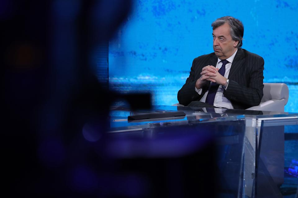 """Virus pronto a ripartire in Italia"": l'allarme di Burioni (Photo by Stefania D'Alessandro/Getty Images)"