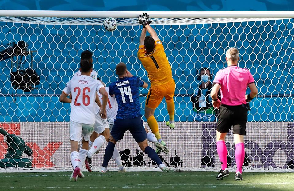 Slovakia's keeper had a shocking afternoon in the Euros (Getty Images)