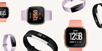 """<p>Um, if you have not tried a Fitbit by now, you're seriously missing out. Even one of Lady Gaga's and Rihanna's trainers, Harley Pasternak, is a Fitbit ambassador. """"I encourage all my clients to use a Fitbit to track their steps every day, because being fit and healthy really comes down to what you do when you're not working out,"""" he says. </p><p>I mean...if it's good enough for RiRi's and Gaga's trainer, I stan. Pasternak goes on to explain, """"Then when you do get to the gym or head out for a run, you can use your Fitbit to ensure you're getting the most out of that workout."""" Sold? Same. Below, I'll break down the best Fitbits, including three v-exciting new launches (they're not even on sale yet). So keep on scrolling for all the sweaty details.</p>"""