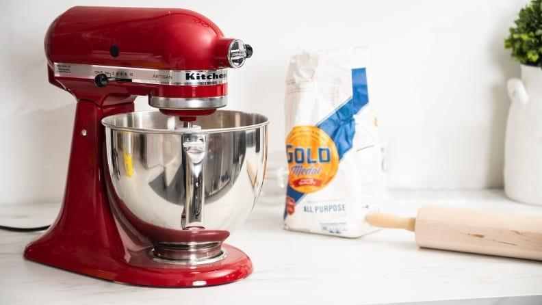 Score a Kitchenaid stand mixer at an incredible price this week.