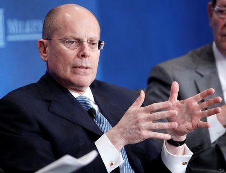 UnitedHealth Chief Executive Officer Hemsley takes part in a panel discussion in Beverly Hills