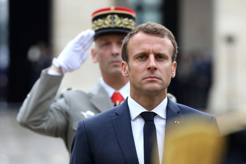 Macron says France's welfare system is wasteful, urges reforms