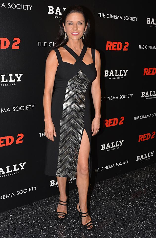 "NEW YORK, NY - JULY 16:  attends The Cinema Society and Bally host a screening of Summit Entertainment's ""Red 2"" at MOMA on July 16, 2013 in New York City.  (Photo by Andrew H. Walker/Getty Images)"