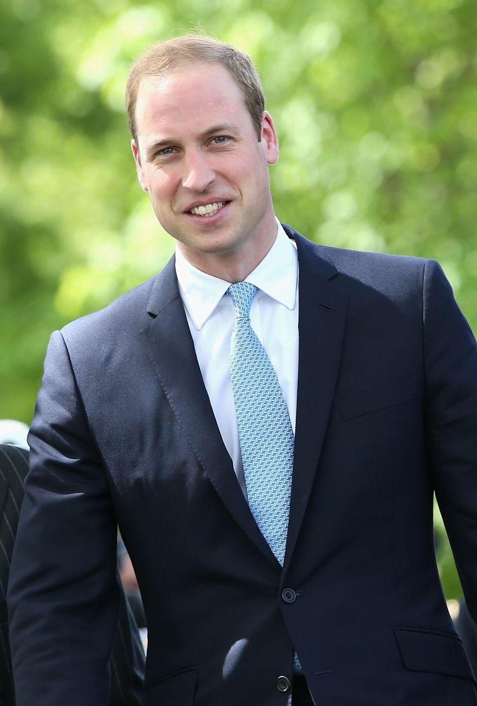 <p>The Duke of Cambridge will succeed the throne after his father, Prince Charles.</p>