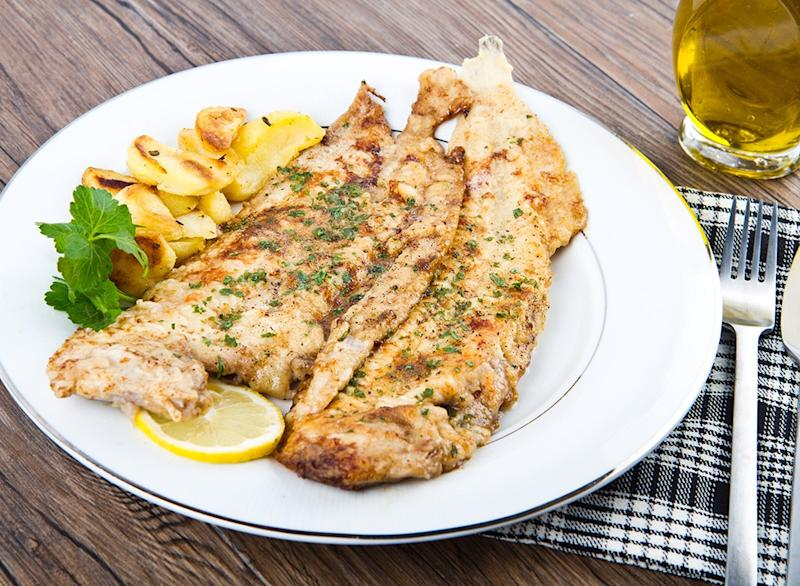 Fish ranked Flounder and Sole