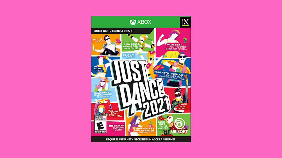 Right now you can save 50 percent on Just Dance 2021 for Xbox Series X/S and Xbox One. There's no better gift. (Photo: Amazon)