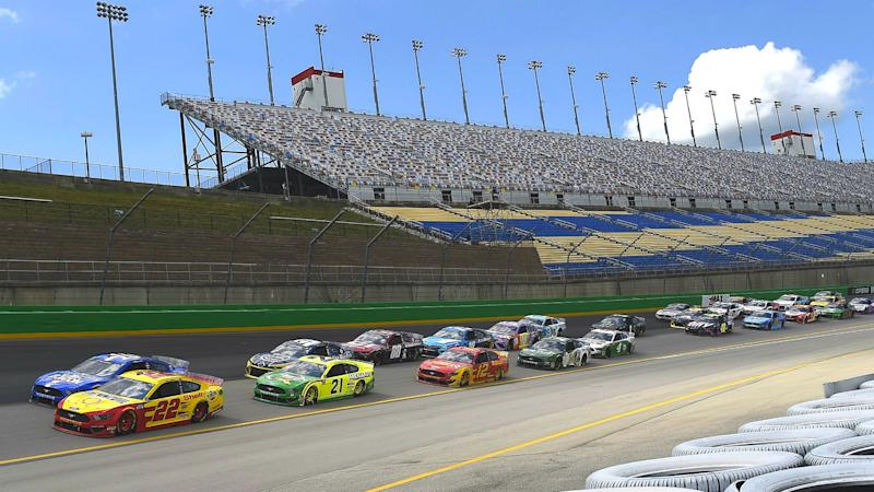 Who won the NASCAR race yesterday? Complete results from Quaker State 400 at Kentucky