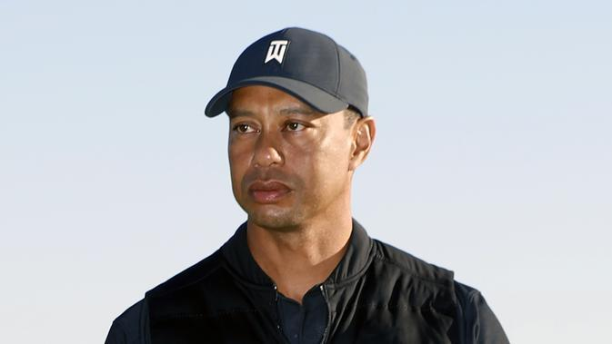 Tiger Woods. (AP Photo/Ryan Kang)
