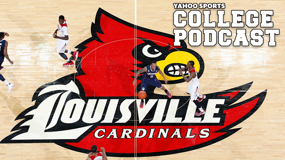 """The University of Louisville received its notice of allegations from the NCAA on Monday, the latest school implicated in the federal basketball scandal to receive formal allegations.  The NCAA charged Louisville with a Level I violation, the harshest in its repertory. There are also three additional Level II violations tied to the case, one of which is leveled toward former coach Rick Pitino for not satisfying his """"head coach responsibility when he failed to promote an atmosphere of compliance."""" (Photo by Joe Robbins/Getty Images)"""