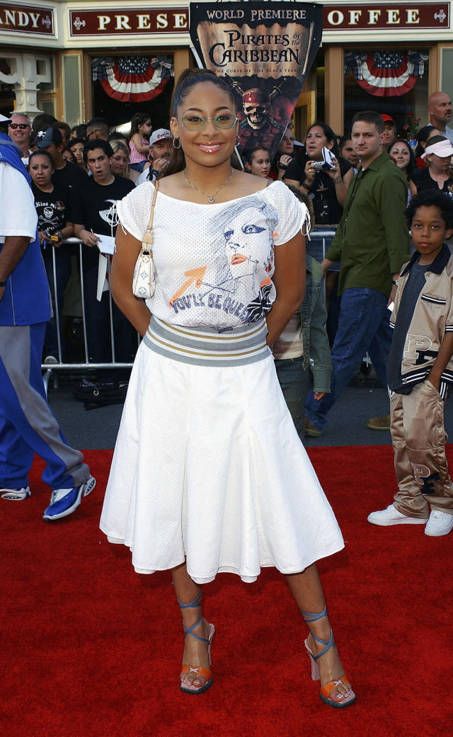 <p>The 17-year-old actress was starring in Disney's <em>That's So Raven </em>at the time of the<em> Black Pearl </em>premiere. (Photo: Amanda Edwards/Getty Images) </p>