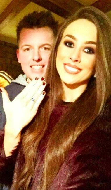 Francis Donald proposed to Fionnuala Kearney in December 2017 (SWNS)