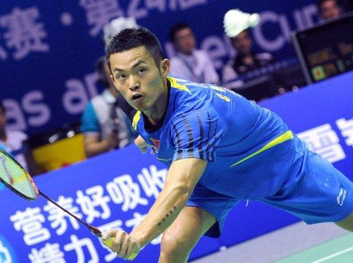 Lin played a tight match against England's Rajiv Ouseph