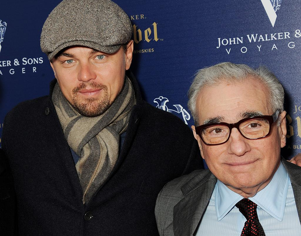 CANNES, FRANCE - MAY 16:  (FRANCE OUT. EMBARGOED FOR PUBLICATION IN UK TABLOID NEWSPAPERS UNTIL 48 HOURS AFTER CREATE DATE AND TIME. MANDATORY CREDIT PHOTO BY DAVE M. BENETT/GETTY IMAGES REQUIRED)  Leonardo DiCaprio (L) and Martin Scorsese attend the Martin Scorsese Film Announcement 'Silence' hosted by Johnnie Walker Blue on May 16, 2013 in Cannes, France.  (Photo by Dave M. Benett/Getty Images for Johnnie Walker Blue)