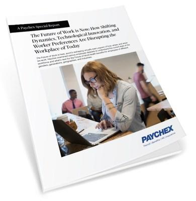 Flexibility is the common denominator in the way employees want to work now and the way they expect to work in the future, according to new research released today by Paychex.