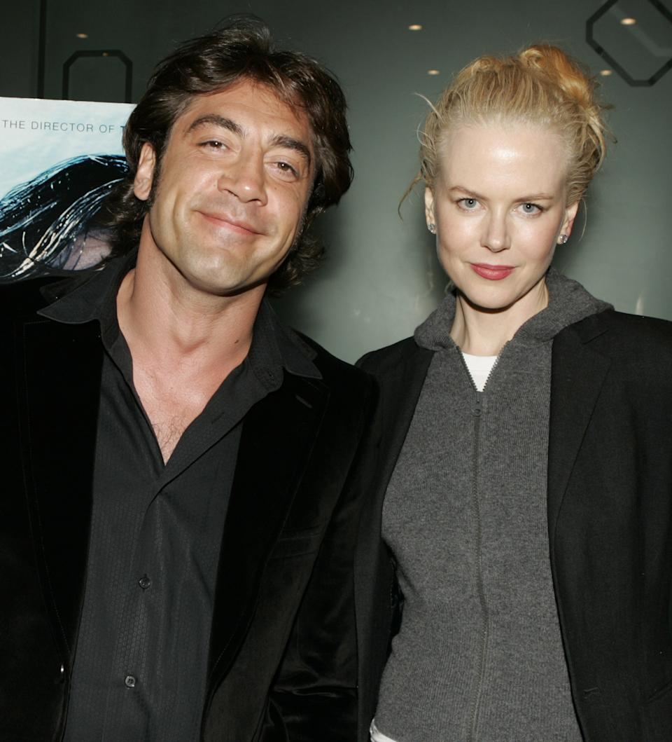 Javier Bardem and Nicole Kidman (Photo by Jeff Vespa Archive/WireImage)