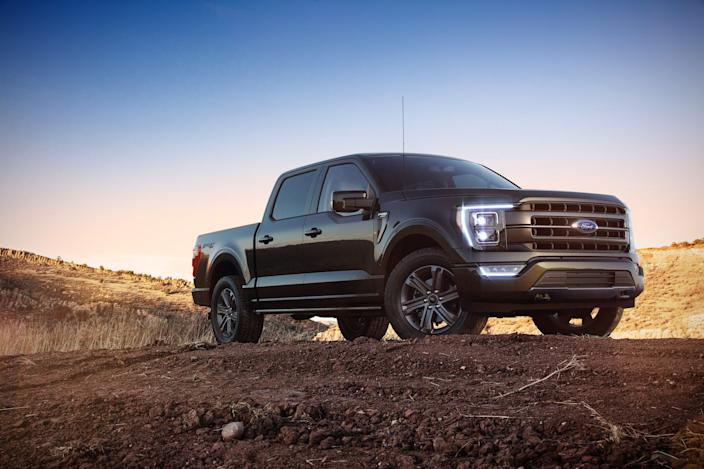 2021 Ford F-150.
