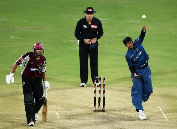 Deccan Chargers v Somerset CCC: Airtel Champions League Twenty20 : News Photo