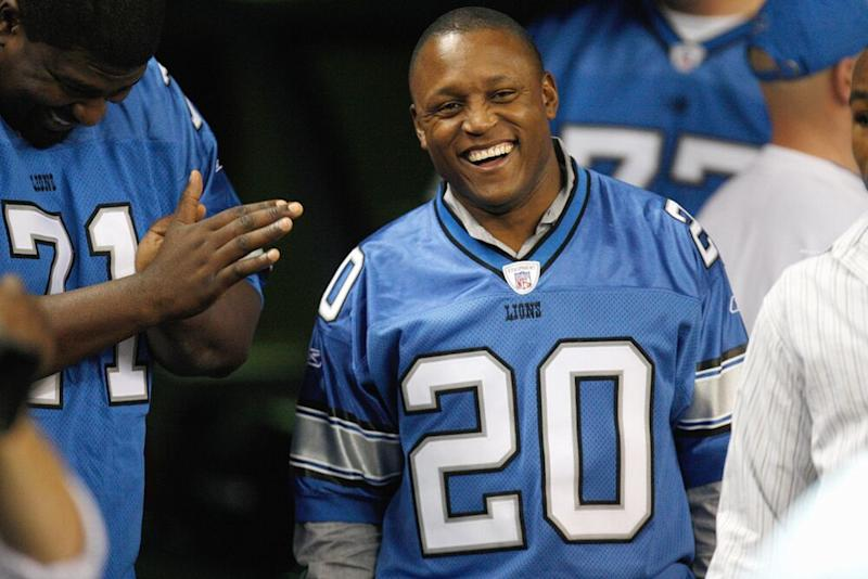 Barry Sanders | Gregory Shamus/Getty