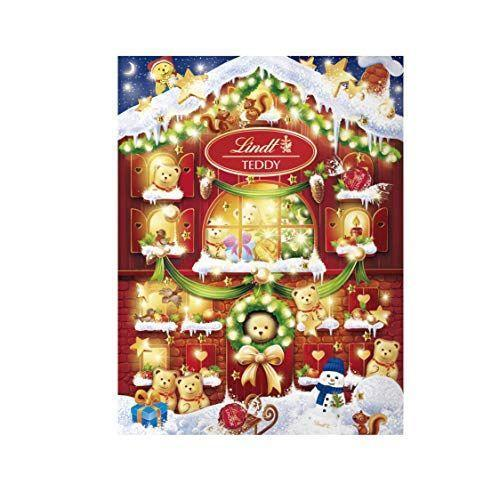 """<p><strong>Lindt</strong></p><p>amazon.com</p><p><strong>$35.49</strong></p><p><a href=""""https://www.amazon.com/dp/B07WS2H54H?tag=syn-yahoo-20&ascsubtag=%5Bartid%7C10055.g.4911%5Bsrc%7Cyahoo-us"""" rel=""""nofollow noopener"""" target=""""_blank"""" data-ylk=""""slk:Shop Now"""" class=""""link rapid-noclick-resp"""">Shop Now</a></p><p>This heartwarming Lindt Holiday set comes with 24 chocolate shaped teddy bears.</p>"""