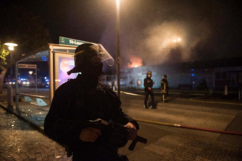 France Police Shooting Riots Enter Second Night