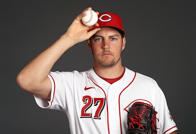 Reds pitcher Trevor Bauer says MLB made a lose-lose situation worse. (Photo by Jamie Squire/Getty Images)