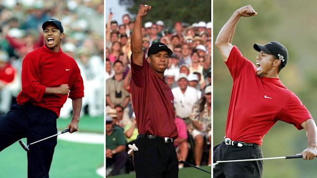 Before he strolls to the first tee at August National on April 5, here's a look at Tiger Woods' storied Masters history.