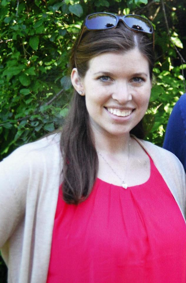 Danvers High School teacher Colleen Ritzeris seen in this undated photo provided by the family of Ritzer. Fourteen-year-old high school student Philip Chism was accused of killing Ritzer, a well-liked math teacher at Danvers High School, in Danvers, Mass., whose body was found in the woods behind the school. Law enforcement officials recovered the remains of 24-year-old Ritzer early Wednesday, Oct. 23, 2013, Essex District Attorney Jonathan Blodgett said. Chism was arraigned Wednesday in Salem on a murder charge and ordered held without bail. (AP Photo/Courtesy of Dale Webster via the Lawrence Eagle-Tribune)