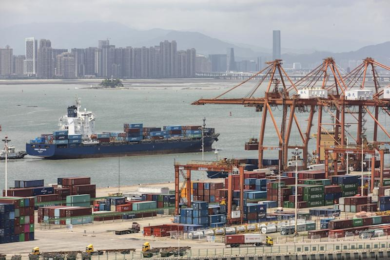 China's August Exports Shrink as Tariff War Hurts U.S. Sales