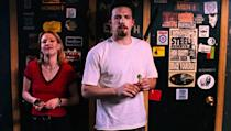 <p> Comic book creator Holden McNeil (Ben Affleck) meets fellow author Alyssa Jones (Joey Lauren Adams) and is immediately smitten. The pair hit it off - banter, laughs, the whole shebang. The twist in the tale? She's a lesbian. </p> <p> Tackling a frankly tricky topic - the fluidity of sexual identity, contemporary masculinity - it still holds up as a funny as hell dive into modern romance. Points awarded for Holden's confession to Alyssa on their way home from dinner: moving, funny, and probably Kevin Smith's best monologue ever scripted. Well, Alyssa's response to Holden's prying later on comes pretty damn close to topping it actually. </p>