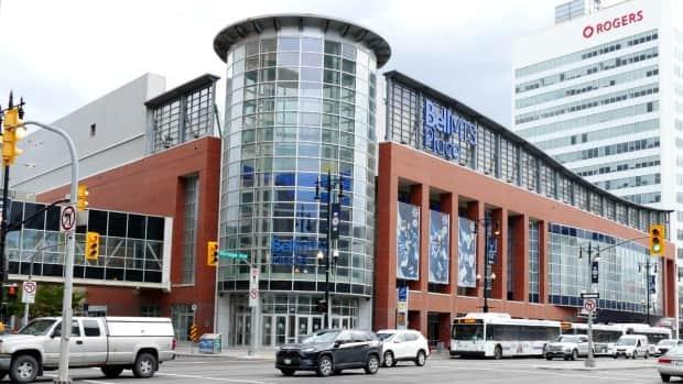 Winnipeg's Bell MTS Place can seat up to 16,345 people.