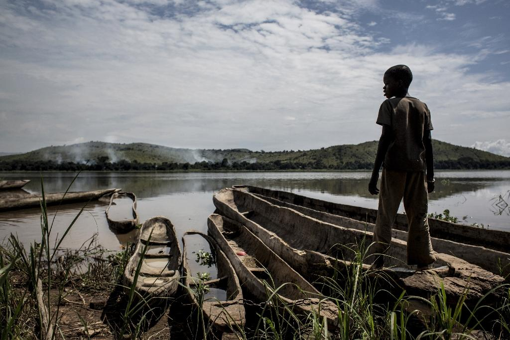 Poverty, unemployment and hunger are some of the main issues driving children to join armed groups in DR Congo, according to War Child (AFP Photo/JOHN WESSELS)
