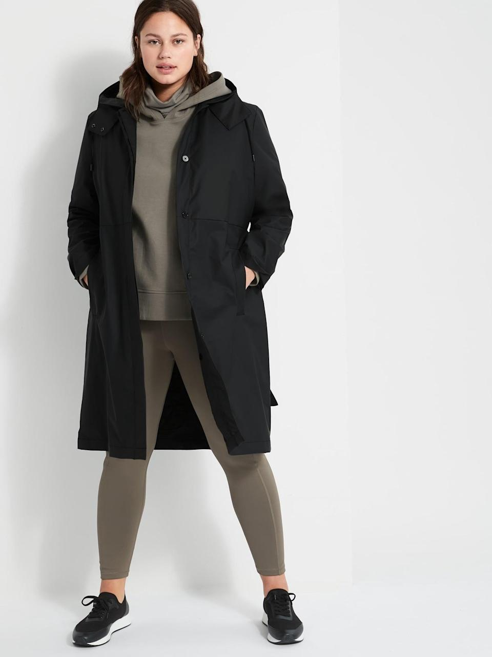<p>This <span>Banana Republic 2-In-1 Rain Coat</span> ($279) means you get a coat for several seasons as there's a removable quilted liner and a removable hood, too.</p>