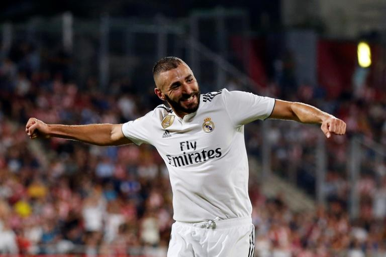 Karim Benzema scored against Girona last week and appears liberated now Cristiano Ronaldo has left Real Madrid
