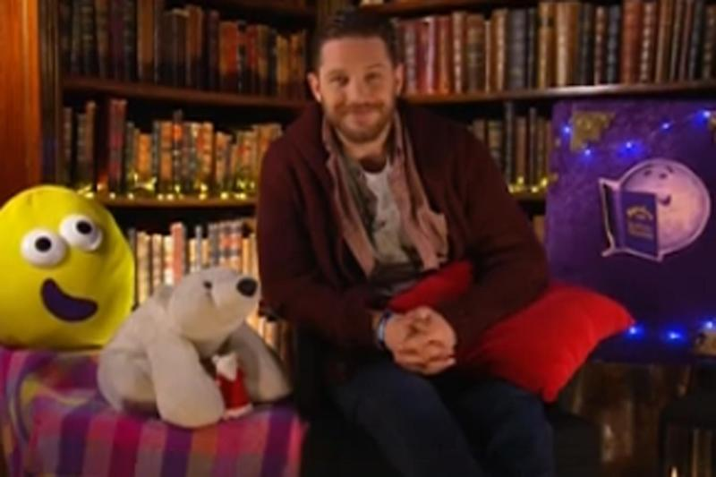 Teaser: Tom Hardy will read a story on Mother's Day: Cbeebies