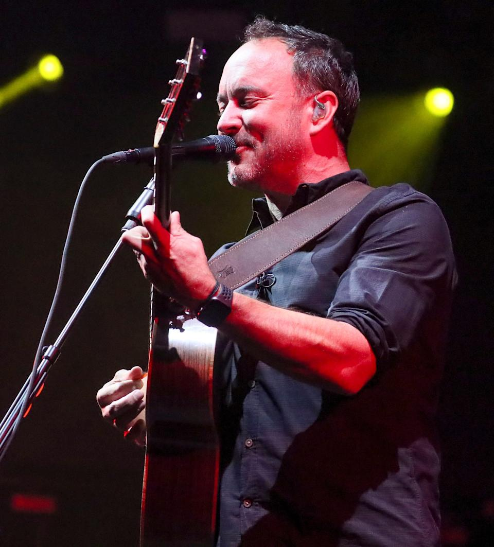 Dave Matthews Band headlines at American Family Insurance Amphitheater during Summerfest on Sept. 15, 2021.