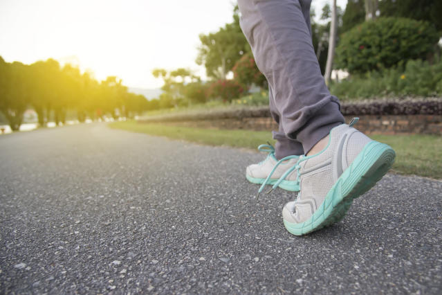 Going for a ten minutes walk a day can help lower your risk of heart attack or stroke, new research has suggested. (Getty Images)