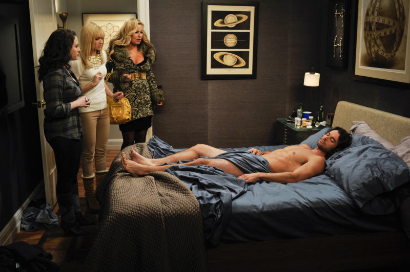Raunch meter rises for CBS Monday comedies