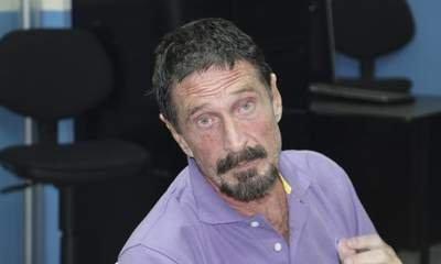 John McAfee Expects Release From Jail 'Soon'