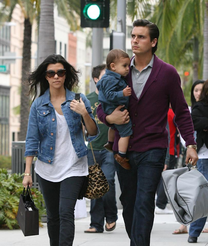 "<i>In Touch</i> reports that Scott Disick and Kourtney Kardashian are embroiled in a ""battle for the baby."" According to the magazine, the fighting has become so fierce between them over son Mason, Disick recently ""put an end to their wedding plans,"" and said he's going to consult a custody lawyer ""in case things don't work out between them."" For how bad it's become and the chances of reconciliation, check out what a Kardashian Konfidante exclusively tells <a href=""http://www.gossipcop.com/kourtney-kardashian-scott-disick-custody-battle-mason-wedding/"" target=""new"">Gossip Cop</a>. <a href=""http://www.infdaily.com"" target=""new"">INFDaily.com</a> - March 24, 2011"