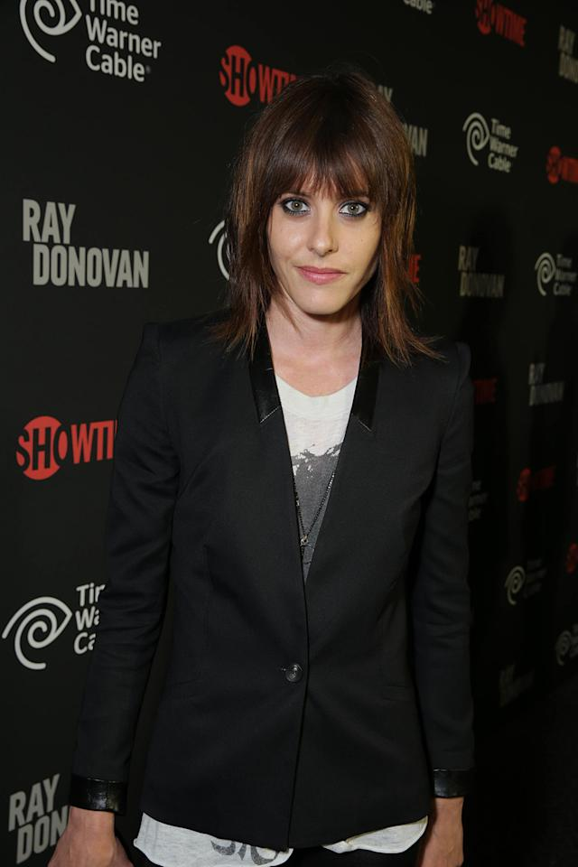 Katherine Moenning arrives at the Showtime premiere of the new drama series Ray Donovan presented by Time Warner Cable, on Tuesday, June, 25, 2013 in Los Angeles. (Photo by Eric Charbonneau/Invision for Showtime/AP Images)