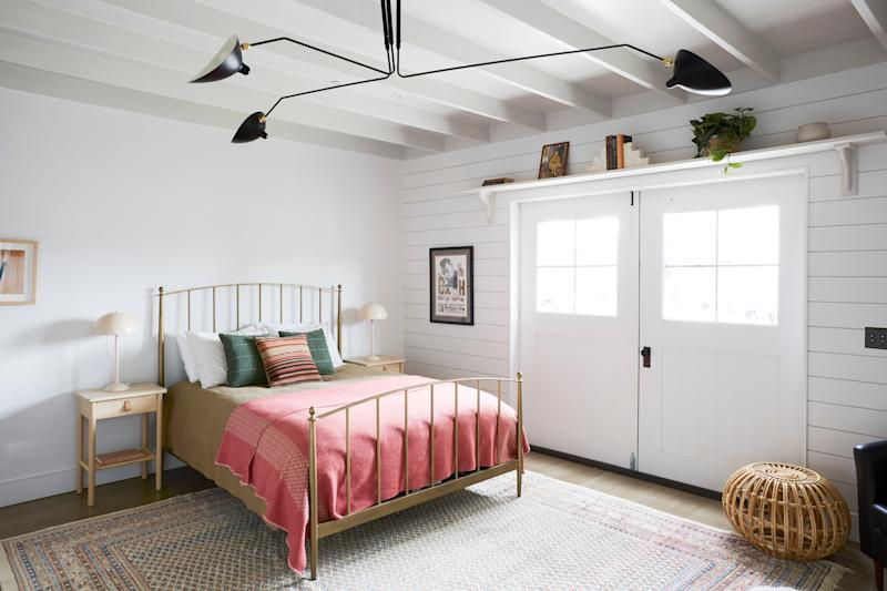 AFTER: The outdoor-indoor living philosophy is in evidence here, as the doors of the bedroom can be opened to enjoy natural light and the backyard.