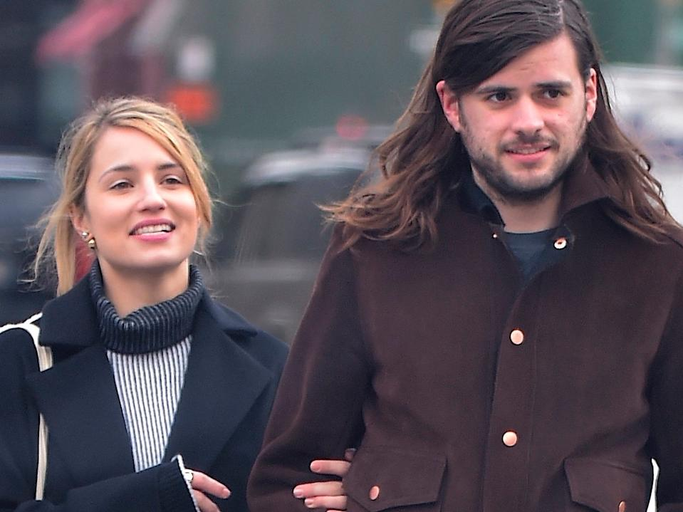 dianna agron and winston marshall february 2017
