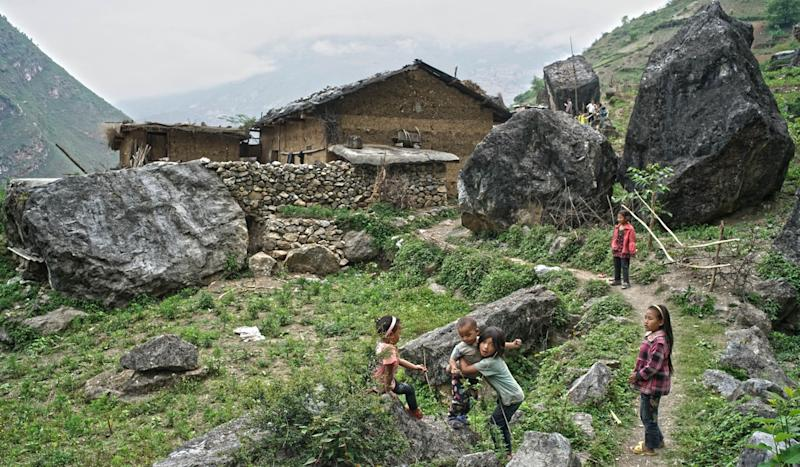 How a scary clifftop commute has breathed new life into a Chinese village mired in poverty