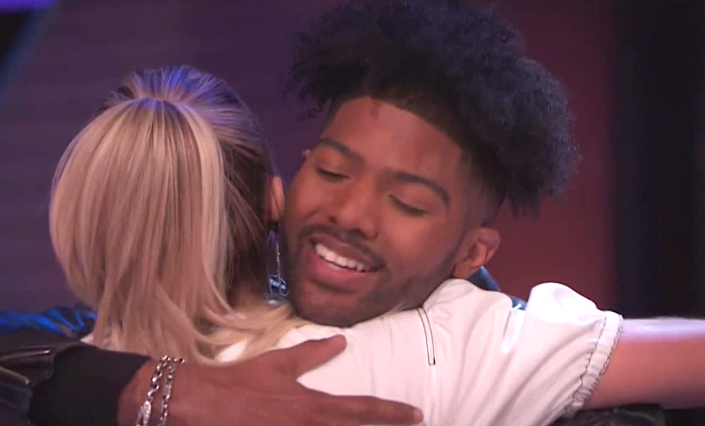 Kelsea Ballerini congratulates winner Darius Coleman on 'Songland.' (Photo: NBC)