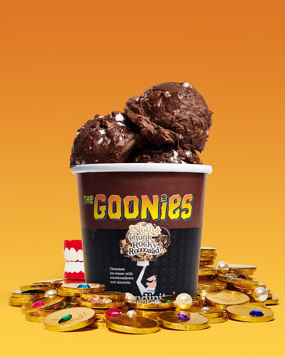 Serendipity is offering a new Goonies-themed ice cream flavor. (Photo: Serendipity Brands)