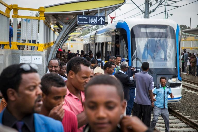African leaders have long embraced Chinese investments, such as Sub-Sharan Africa's first modern tramway in Addis Ababa