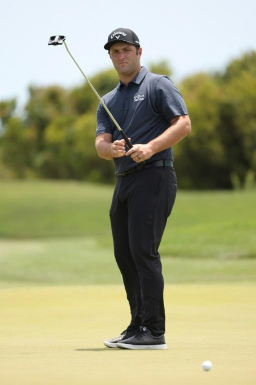 World number three Jon Rahm of Spain, who had been critical of restrictions at the Tokyo Olympics, indicated Tuesday he would be playing in Japan anyway