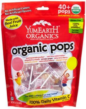 <p>These vegan lollipops created by two dads with young children pop up in trick-or-treat bags frequently and are nut free, gluten free and use non-GMO ingredients. This year Yum Earth also has special edition vegan Halloween gummy worms and bears. </p>