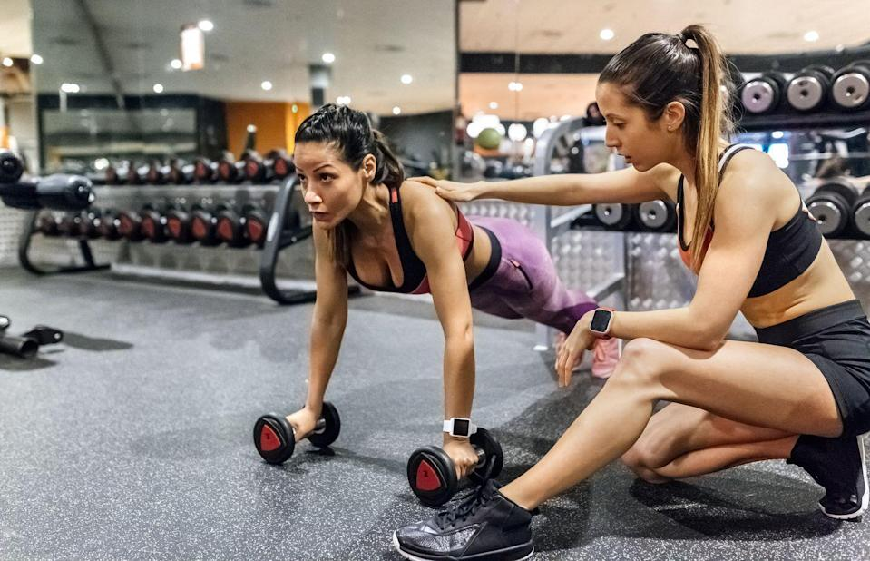 """<p>To give clients the results they want, a good trainer has to go beyond the physical workout. <strong>""""</strong>I've had clients who are not losing weight, and I had to dig to find out that they're going out and drinking every weekend,"""" says Nerissa Zhang, CEO and co-founder of <a href=""""https://getbright.app/"""" rel=""""nofollow noopener"""" target=""""_blank"""" data-ylk=""""slk:The Bright App"""" class=""""link rapid-noclick-resp"""">The Bright App</a>. """"Many people who struggle with weight and fitness have some bad habits that are preventing them from success. As a trainer, I have to figure out, case-by-case, and address them.""""<br></p><p>If you worked with a trainer for a while and you're not getting closer to your fitness goals, it might be time someone new. """"At the end of the day, you should view it as a business relationship,"""" says Zhang. """"It's important that you still evaluate the training aspect of the relationship by itself. Are you getting stronger? Are you making progress towards your goals? When this is no longer the case, it's important to be up front and professional about it.""""<br></p>"""