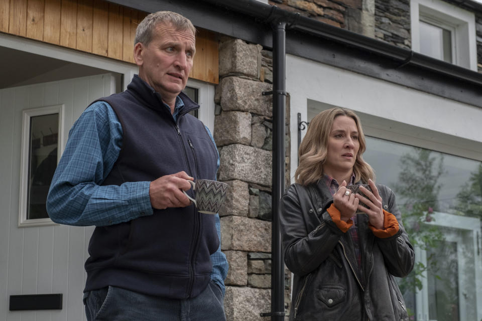 Christopher Eccleston is returning in the BBC's The A Word. (Matt Squire/BBC/Fifty Fathoms)